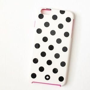 Kate Spade Black Polka Dot IPhone Case